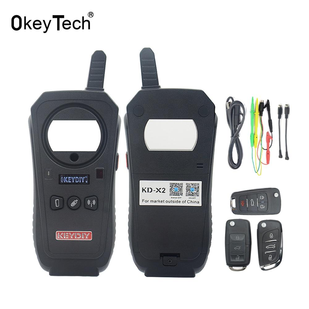 Car Remote Unlocker >> OkeyTech KD X2 Chip Reader Frequency Tester Access Card Copier Remote Maker Unlocker Generator ...