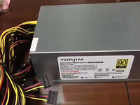 Asic Mining Rig Power Supply 2000w 12v ATX Ethernet Bitcoin Support Rx 570 470 480 370