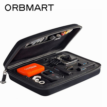 ORBMART Sport Camera Storage Case Collection Bags Portable Protective Shockproof For Gopro Hero 7 6 5