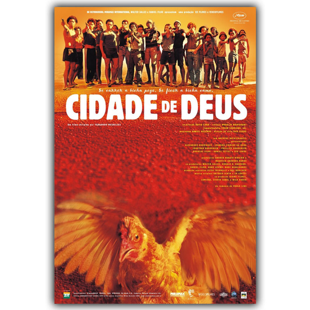 an impression of the movie city of god cidade de deus City of god churns with furious energy as it plunges into the story of the  the  film has been compared with scorsese's goodfellas, and it.
