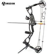 Соединение бант стрельба из лука для охоты стрелка правую руку с 40-65lbs нарисуйте Вес для съемки на открытом воздухе человека