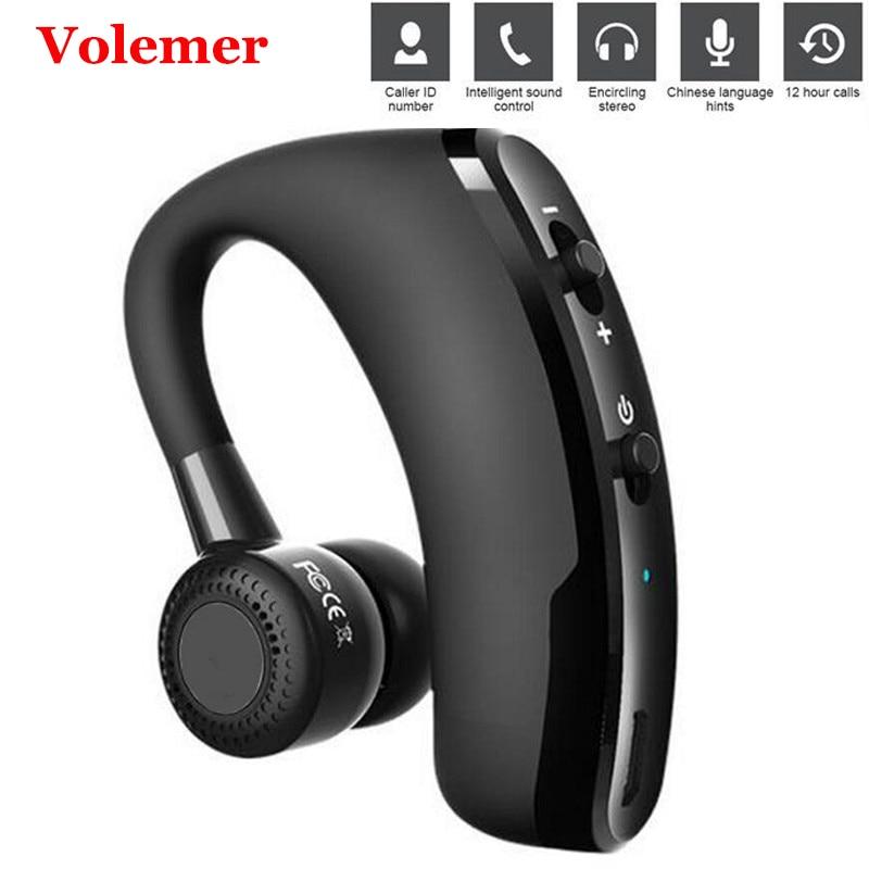 Leegoal V9 Handsfree Wireless Bluetooth Earphones Noise: Volemer V9 Wireless Headset Voice Control Music Sport