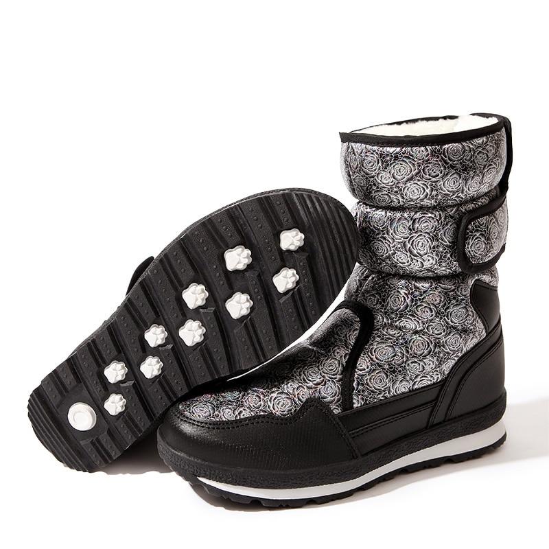 Botas Primavera Los Niños Caliente Y Zapatos Moda Antideslizante De Invierno Grueso Nueva Cálido Modelo 2018 ICwqxPOZw