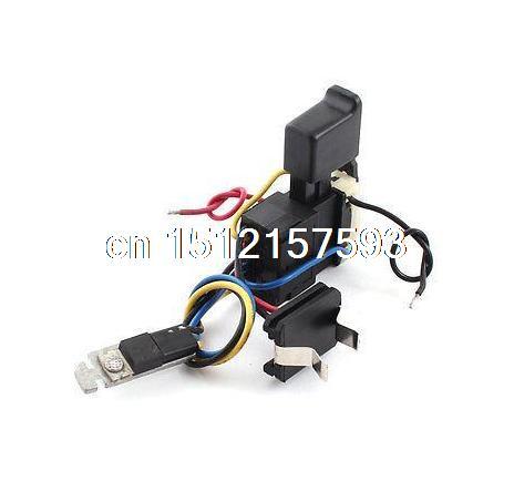 FA08A-12 DC 7.2-24V 12A Plastic Shell Cordless Drill Trigger Switch