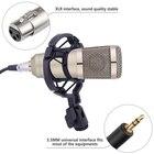 Bm-800 Professional Condenser Microphone Kit Pro Audio Studio Vocal Recording Adjustable Stand for Computer Karaoke