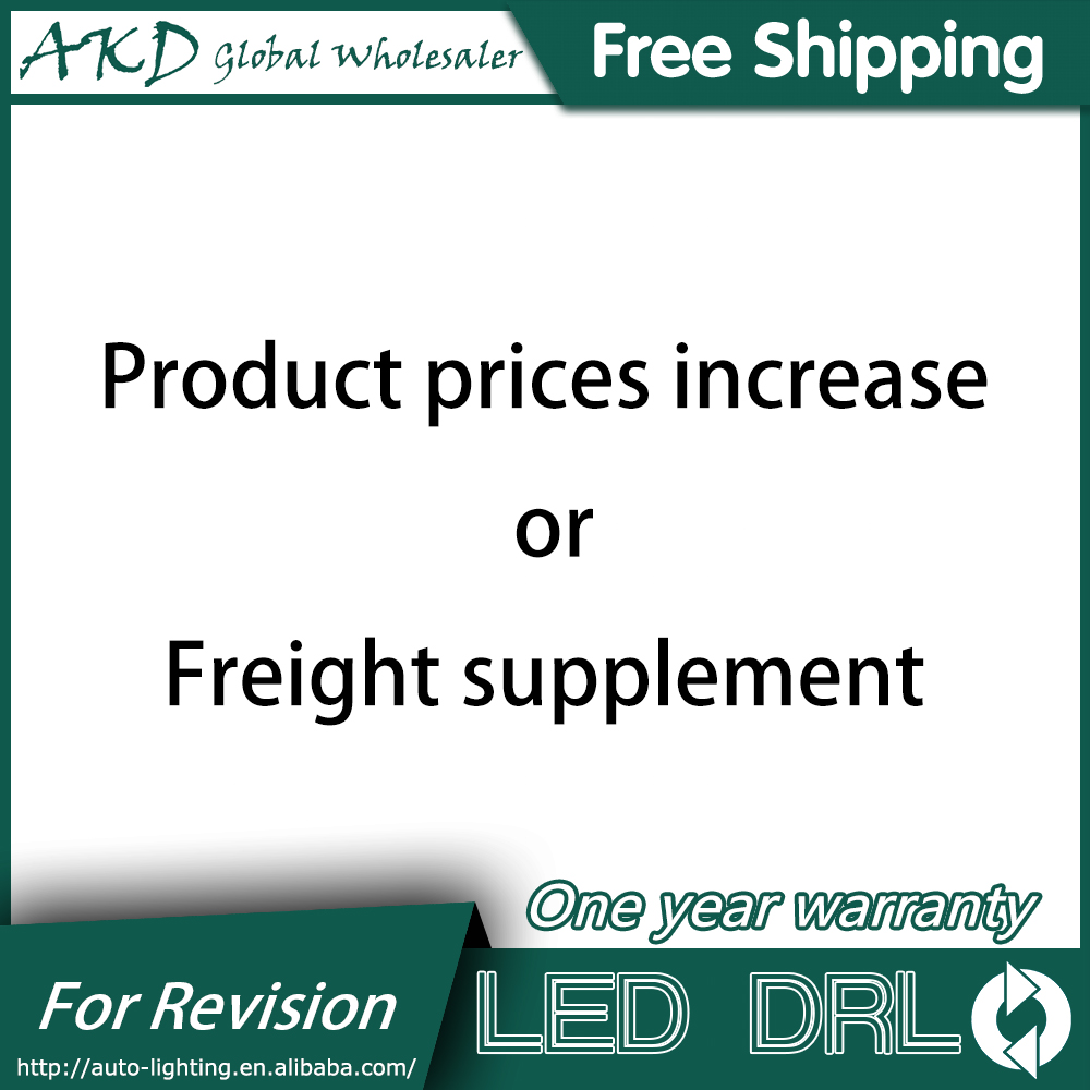 Product prices adjustment Or Freight supplement