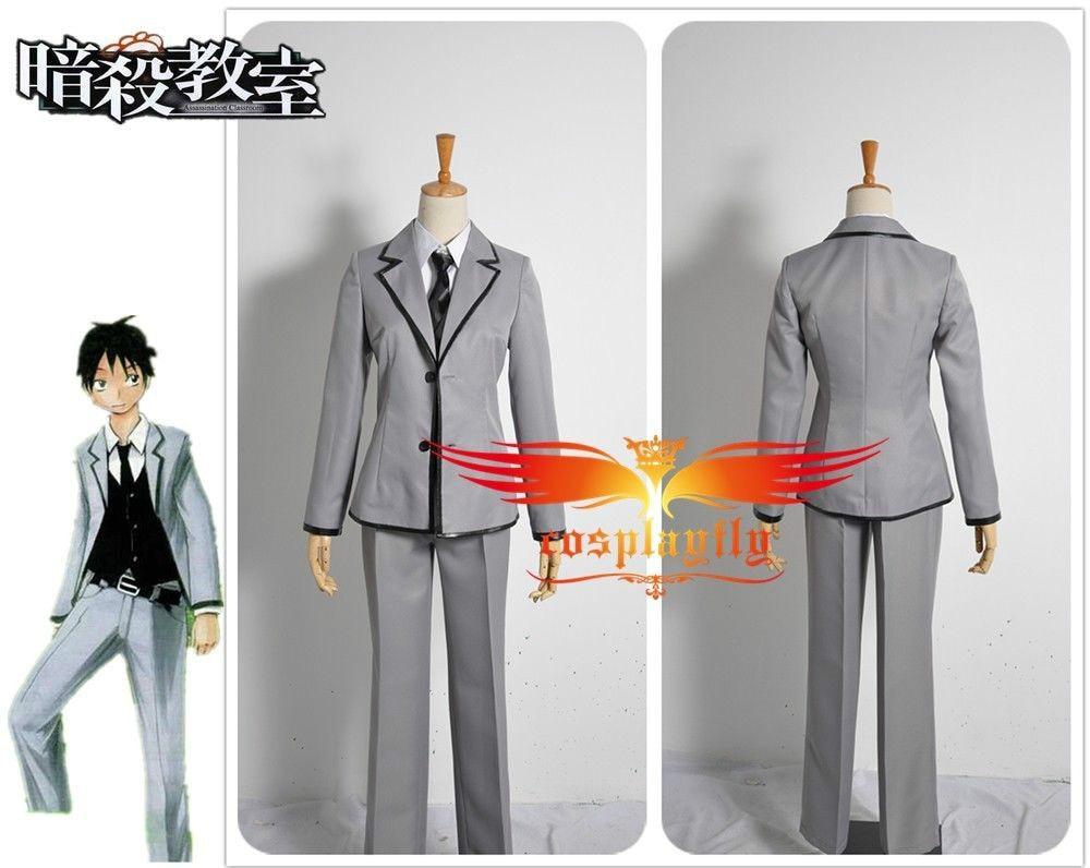 Assassination Classroom Ansatsu Kyoushitsu Tomohito Uniform Cosplay Costume