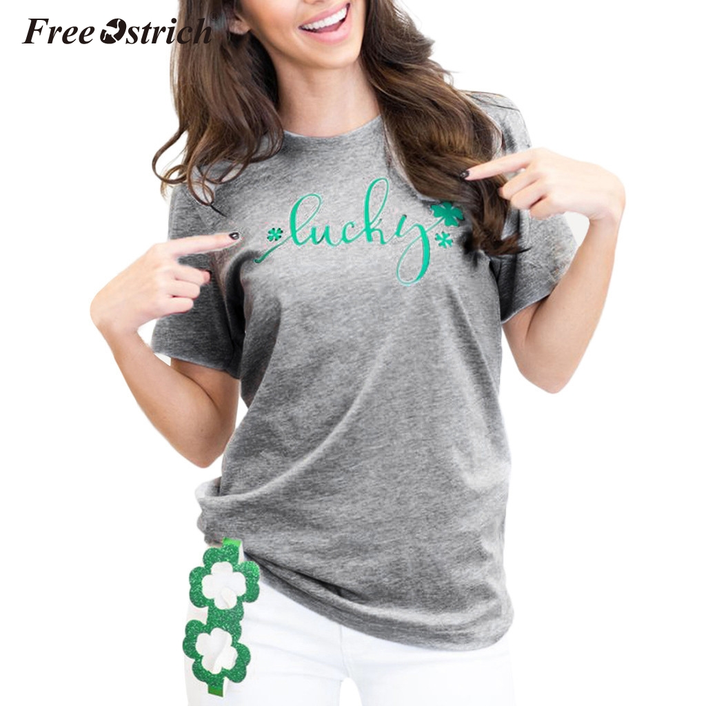 Free Ostrich Plus Size 3XL T Shirt Women Tshirt Blusas Summer Top Tees Shirt Loose Femme Camisas Mujer Casual Female Tops N30
