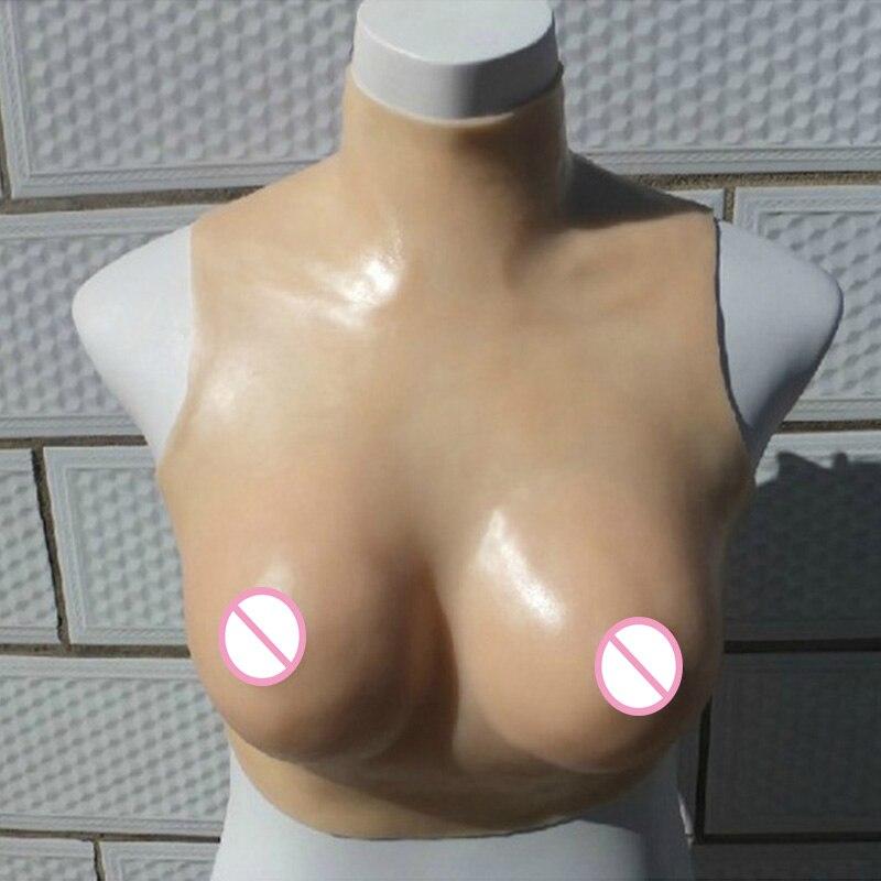 Silicone Breast Forms Mastectomy Boobs Prosthesis Transvestite ... d14ba40e6