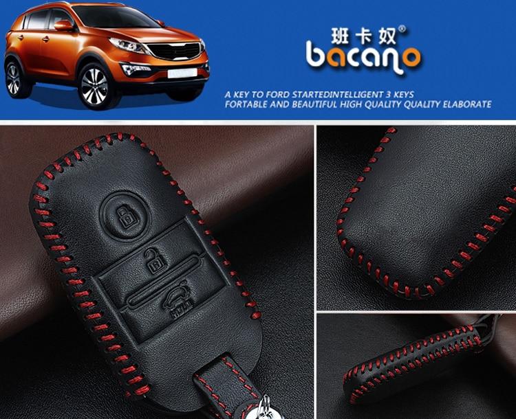 Шынайы Былғары Car ақылды / бүктелмелі - Автокөліктің ішкі керек-жарақтары - фото 4