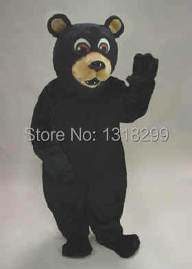 mascot Black Bear mascot costume fancy dress custom fancy costume cosplay carnival costume kits