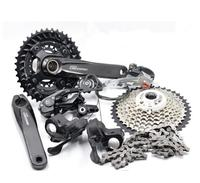 SHIMANO NEW DEORE M6000 2x10S 3x10S 20/30 Speed Groupset group set MTB Mountain Bike Derailleurs BB crankset bicycle kit