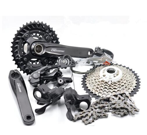 SHIMANO nouveau DEORE M6000 2x10 S 3x10 S 20/30 groupe de vitesses ensemble vtt VTT dérailleurs BB pédalier kit vélo