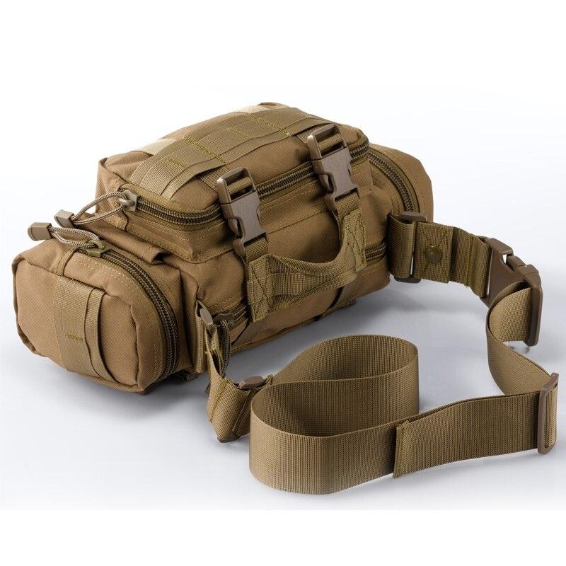 Prix pour 2017 Molle Sports de Plein Air Sacs Étanche Camouflage Armée Tactique Taille Sacs Randonnée Camping Sacs pour Hommes et Femmes