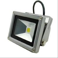 AC/DC 12 В 10 Вт RGB серый В виде ракушки refletor светодиодный Водонепроницаемый прожектор открытый свет IP65 светодиодный потока Освещение