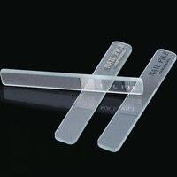 Tırnak Dosyaları Araçları Yeni Şeffaf ve Saydam Dayanıklı Kristal Cam Tırnak Dosya tırnak bakımı Dosyaları Araçları
