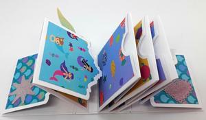 Высечки металла высечки альбома флип фото памяти цветок скрапбукинга бумага ремесло ручной работы карты перфоратор искусства высечки Alinacraft