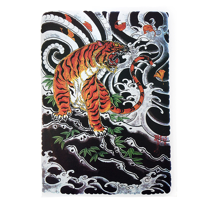 2015 Newest Tattoo Book China Traditional Japan Warrior Hannya