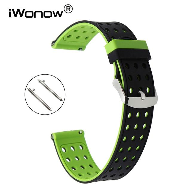 schönes Design schnelle Farbe am besten kaufen US $9.89 10% OFF Schnellverschluss Silikon gummi armband für Diesel DZ  Fossil Männer Frauen Uhrenarmband armband 18mm 19mm 20mm 21mm 22mm 23mm  24mm in ...