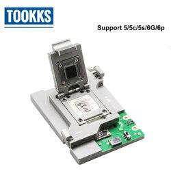 MJ-860 EMMC narzędzie testowe HDD dysk twardy Test naprawa dla iphone 5G 5S 5C 6G 6P SE nand flash chip pamięci IC płyta główna