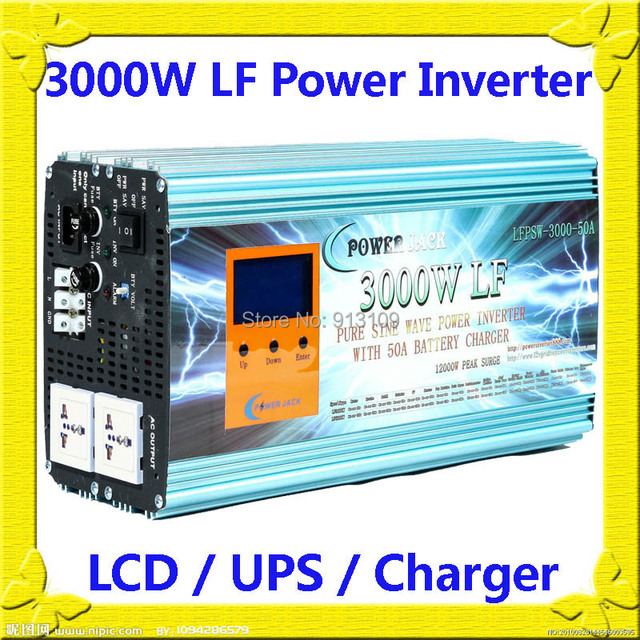 Powerjack Low Frequency Split Phase Inverter
