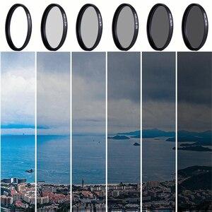 Image 5 - Caenboo 49 ملليمتر عدسة nd تصفية nd2 4 8 عدسة حامي محايد الكثافة 52 ملليمتر nd16 nd32 عدسة مرشح حقيبة لكانون نيكون كاميرا dsrl