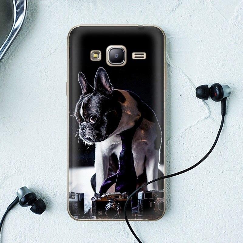 Para el caso de Samsung Galaxy J3/J 3 () Los Casos de TPU Softlyfit Repujado TPU