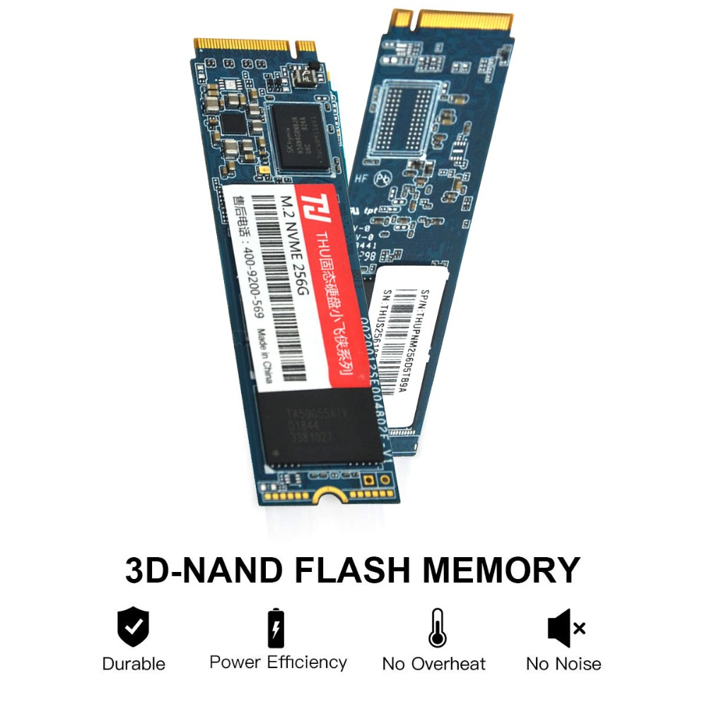 Image 4 - M.2 2280 NVME SSD PCIe 256GB 512GB 1TB 2TBNVMe SSD NGFF M.2 2280 PCIe NVMe TLC Internal SSD Disk For Laptop Desktop-in Internal Solid State Drives from Computer & Office