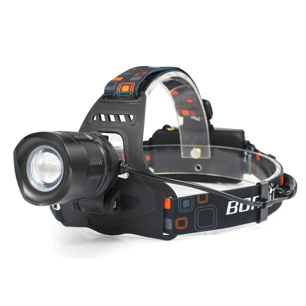 BORUIT RJ-2157 XML L2 LED Headlight 5 Modes Zoom Headlamp Power Bank Flashlight Forehead Torch Frontal Lantern 18650 For Camping boruit xml l2 led headlight lantern 4 modes usb power bank headlamp for fishing hunting use 18650 battery torch lanterna rj 5001