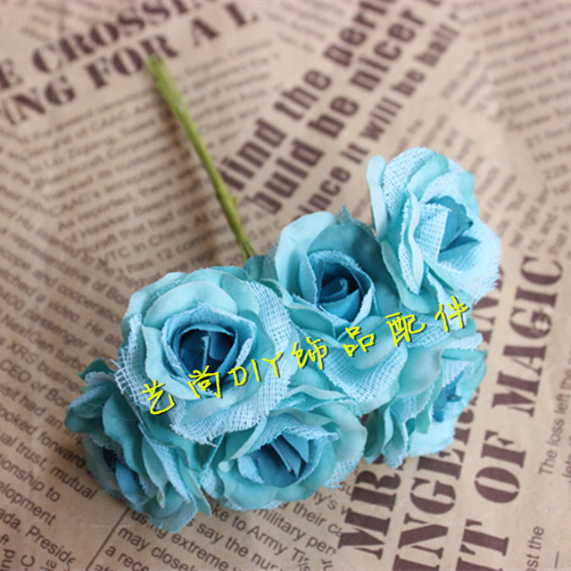 4cm60pcs high quality small fabric artificial silk roseswire stemdiy garland hair flowerhatsshoes decorwedding decorations in artificial dried 4cm60pcs high quality small fabric artificial silk roseswire stemdiy garland mightylinksfo