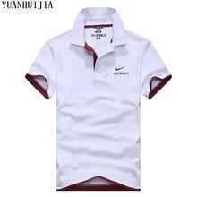 2018 Casual polo shirt Men Solid polo shirt brands men British polo shirts sheep head cotton Short sleeve men M-XXXL