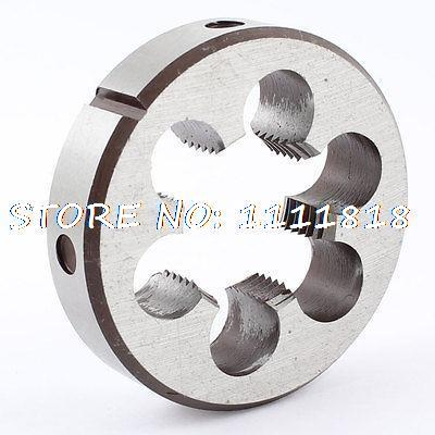 64mm Outside Dia16mm Thickness Metric M30 x 2 Screw Thread Round Die Tool 64mm x 2 metric right hand thread die m64 x 2 0mm pitch