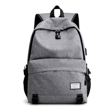 USB Unisex Design Travel Book Bags for School Backpack Men Casual Rucksack Daypack Oxford Canvas Laptop Fashion Man Backpacks цена в Москве и Питере