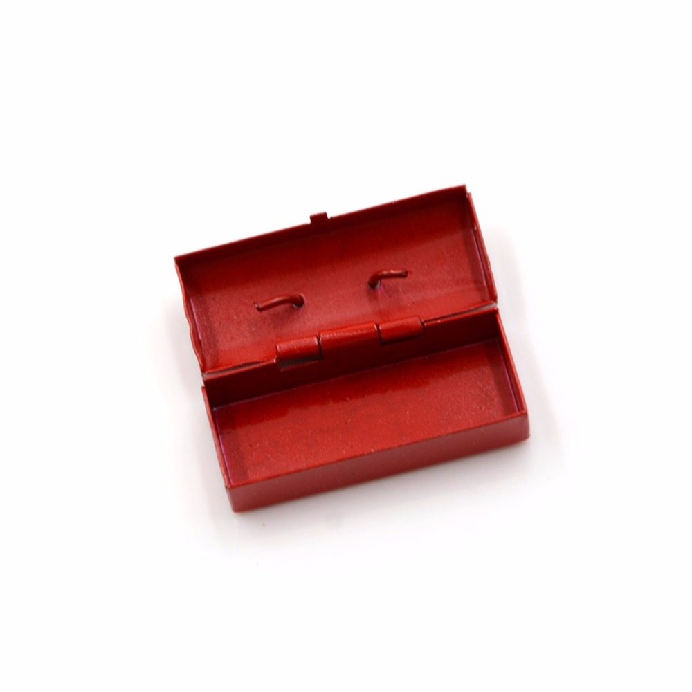 Miniature BLUE Cast Metal Flashlight for the DOLLHOUSE Toolbox 1:12