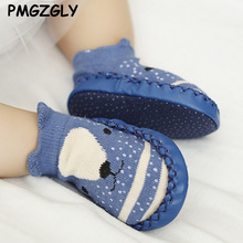 Spring Baby Shoes Newborn Boys Girls Shoes First Walkers Baby Moccasins 0-18 Months Boys Girls First Plush First Walkers autumn