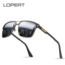 LOPERT  Brand Polarized Sunglasses Men New Fashion Eyes Protect Sun Glasses With Unisex driving goggles oculos de sol UV400 стоимость