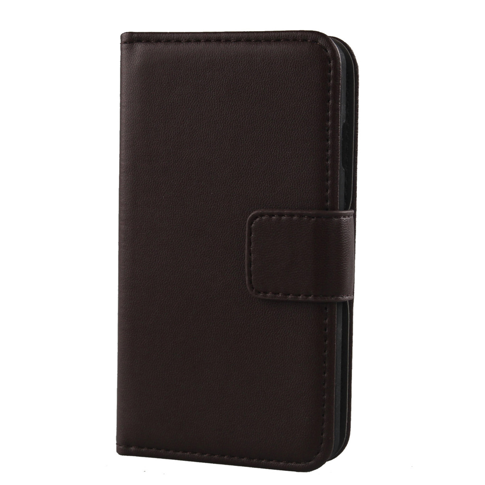 LINGWUZHE Wallet Style Cell Phone Genuine Leather Cover For Oukitel C4 5