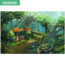Kokoer Needlework Embroidery Full Diamond Painting Snail