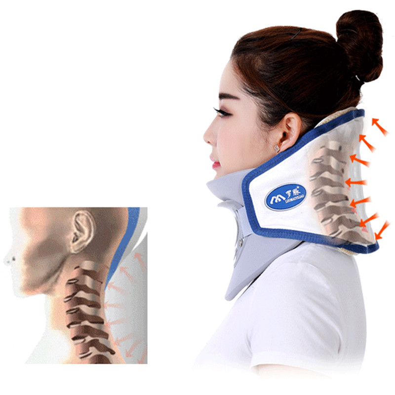 neck cervical traction device inflatable collar household equipment health care massage device nursing care neck cervical traction device inflatable collar household equipment health care massage device nursing care big sale