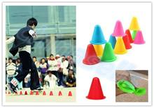 400pcs inline skating Skateboard Mark Cup Soccer Rugby Speed training Equipment Space Marker Cones Slalom Roller skate pile cup slide trainer roller skate training board balance training equipment inline skating coaching and training teaching equipment