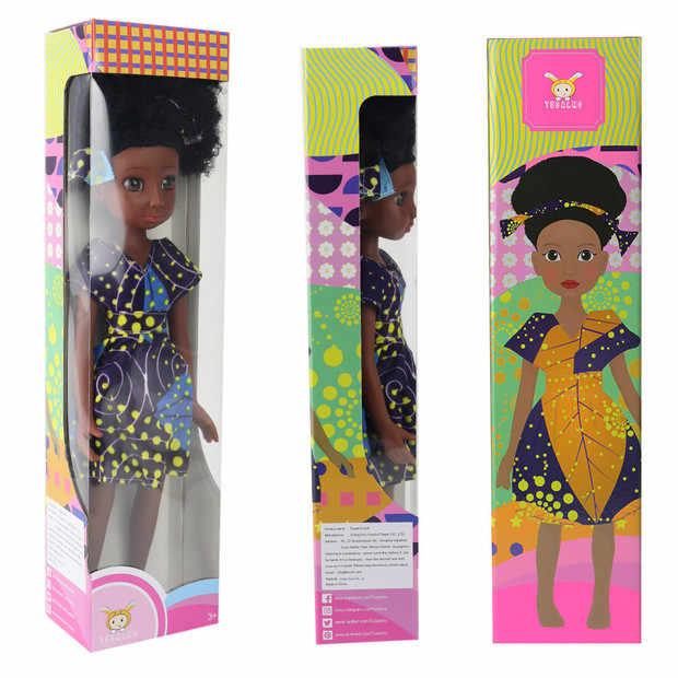 Tusalmo face 2019, хит, 31 см, черные детские куклы, игрушка для ванны, девочка, кукла для девочек, африканская кукла, игрушка, черная кукла, лучший подарок, цветная