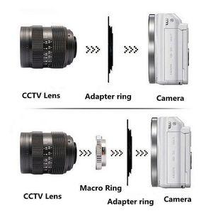 Image 5 - 50mm F1.4 CCTV Movie lens + C Mount to Canon EOS M EOS M2 M3 M5 M6 M10 Mirrorless