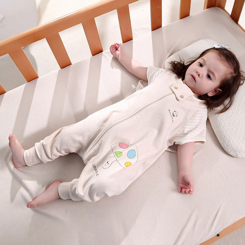 1pc Baby Sleeping Bag Soft Muslin Sleep Sack Toddler Blanket Swaddle Sleeping Bags For Summer