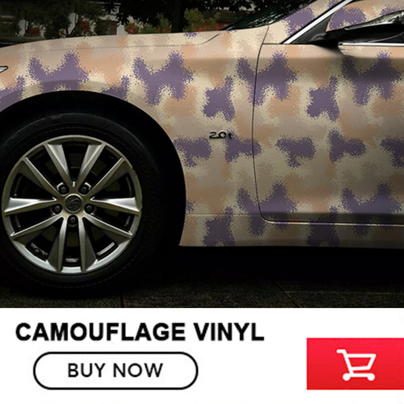 CAM-011 / Camouflage Vinyl Car Wrap Camo Vinyl Roll Film Decal Stickers for Scooter Motorcycle DIY Decorat