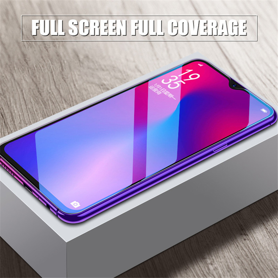 Image 5 - Tempered Glass For Huawei Y9 Y6 Pro Y7 2019 Full Cover Screen Protector for Huawei Y7 Y5 Y6 Prime 2018 Y7s Glass Protective Film-in Phone Screen Protectors from Cellphones & Telecommunications