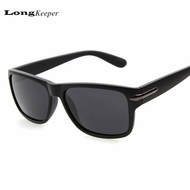 LongKeeper New Polarized Sunglasses for Mens Square Fashion Sun Glasses Gafas de sol Eyewear Accessories Google LKPZ517