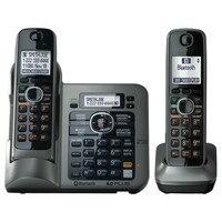 2 Słuchawek KX-TG7641 serii DECT 6.0 link-to-Cyfrowy bezprzewodowy telefon Bezprzewodowy Telefon komórkowy