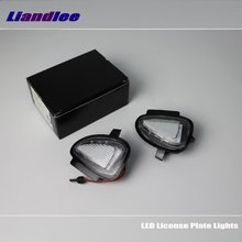 цена на Liandlee For VW Touran 2010~2016 / LED Car License Plate Light / Number Frame Lamp / High Quality LED Lights