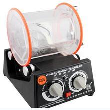 ¡Certificación CE! ¡Envío Gratis! Máquina pulidora de tambor de 3 kg de capacidad, vaso giratorio de joyería, máquina volteadora, Mini-vaso