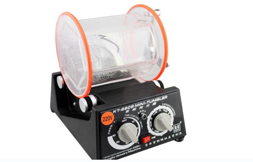 Certificação ce! Frete grátis! Máquina de polimento do cilindro da capacidade 3 kg, tumbler giratório da joia, máquina de cair, mini-tumbler